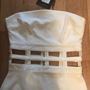 Missguided Dresses - White fitted dress